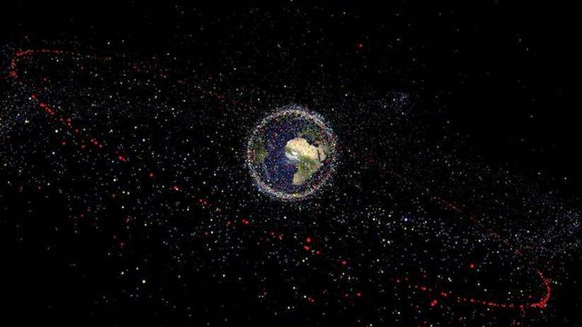 Weltraumschrott: Forscher tüfteln an einer Müllabfuhr für den Orbit