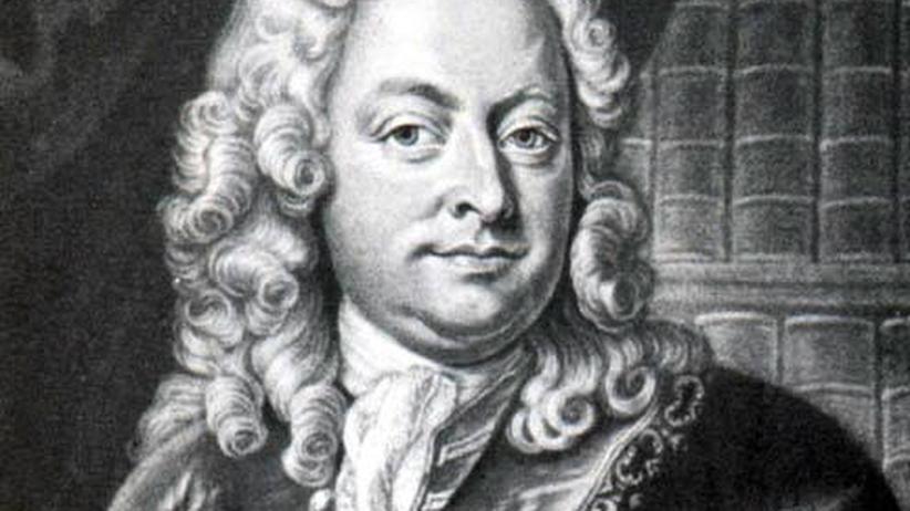 Johann Mattheson nach einem Kupferstich von Johann Jacob Haid