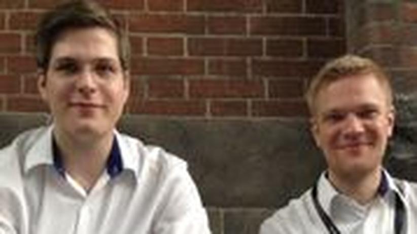 Karsten Becker und Robert Böhme von den Part-Time Scientists