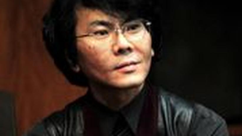 Der japanische Ingenieur und Professor an der Osaka Universität, Hiroshi Ishiguro