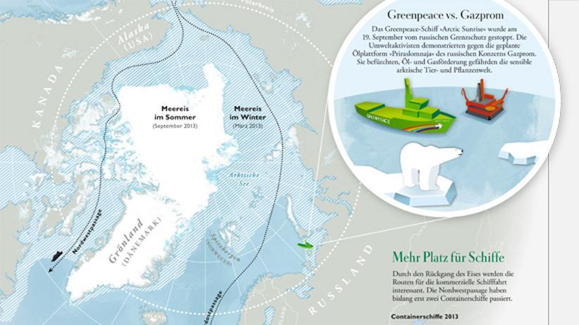 Serie Wissen in Bildern: Wem gehört die Arktis?