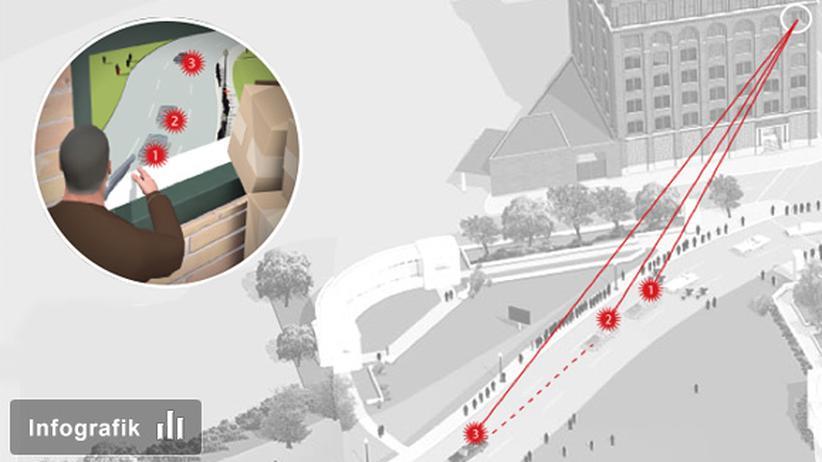 Kennedy-Ermordung: Klicken Sie auf das Bild, um zur Infografik zu gelangen.