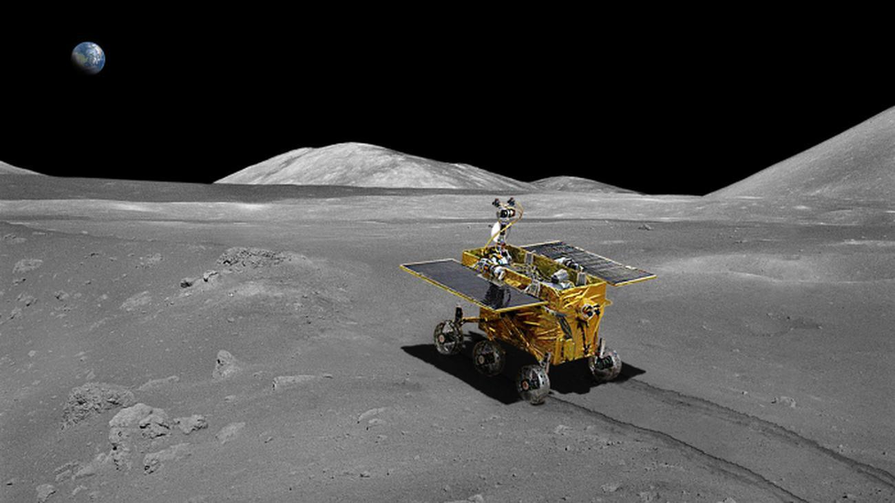 Mondmission Chang'e 3: Der Jadehase ist auf dem Mond gelandet