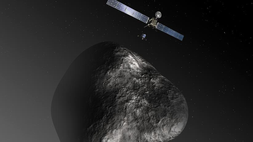 Raumsonde Rosetta: Aufregung vorm Rendezvous mit einem Kometen