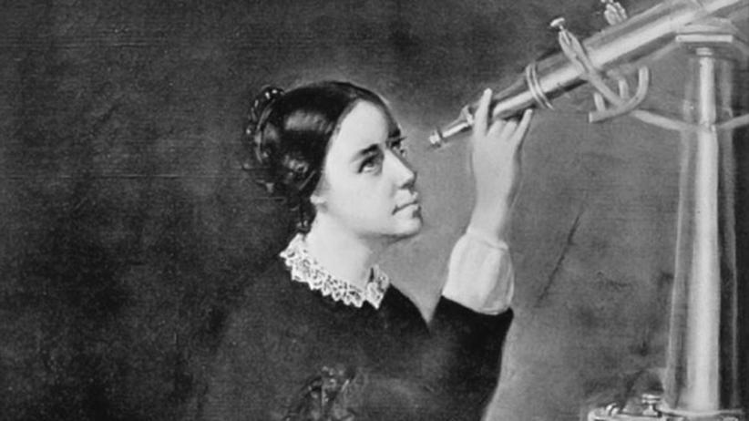 """""""Denn Du bist nur eine Frau"""" (6): Maria Mitchell auf einem Bild aus dem Jahr 1851."""