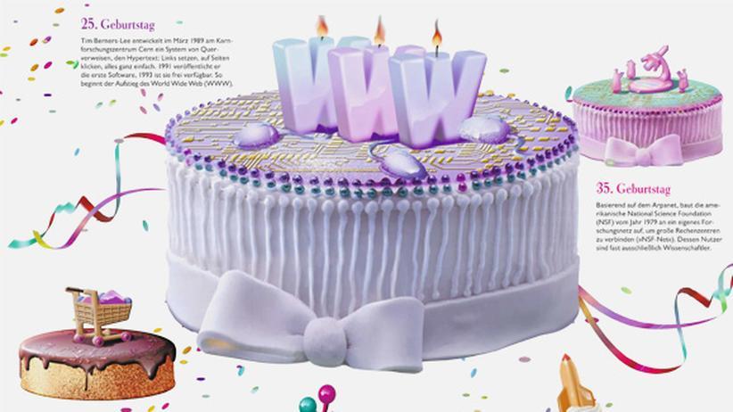 Wissen in Bildern: Happy Birthdays, Internet!