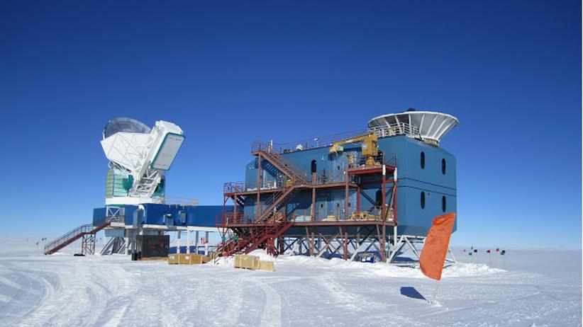 Gravitationswellen Bicep2 Teleskop Urknall Einstein