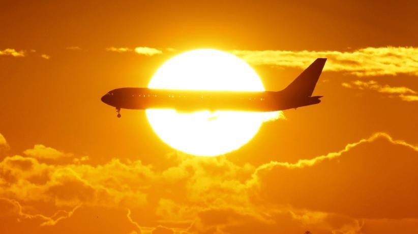 Physik Flugzeug Schatten Stimmt's