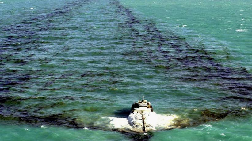 Ölverschmutzung im Meer: Naturschützer patroullieren im All