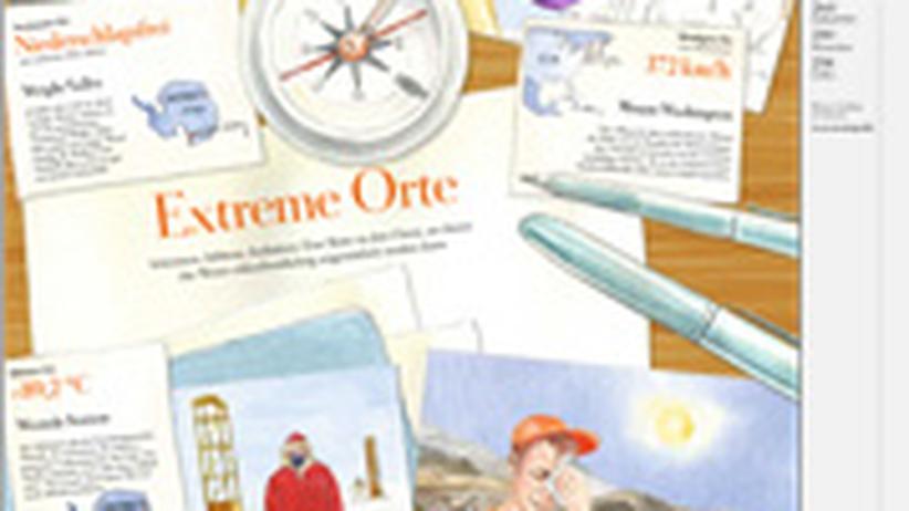 Wetterrekorde: Extreme Orte