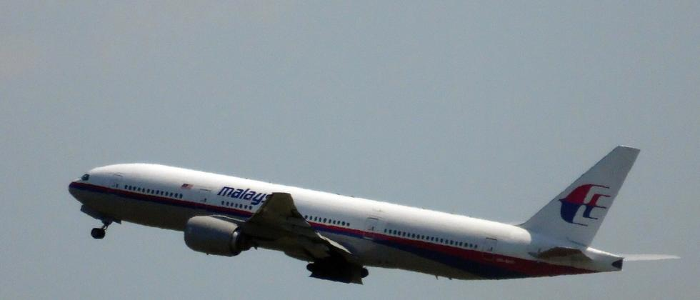 Malaysia Airlines: Nur knapp über der Sperrzone