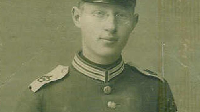 Fritz Niebergall, einfacher Soldat aus Heidelberg