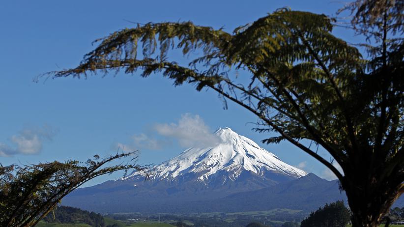 Mount Taranaki Neuseeland Zealandia