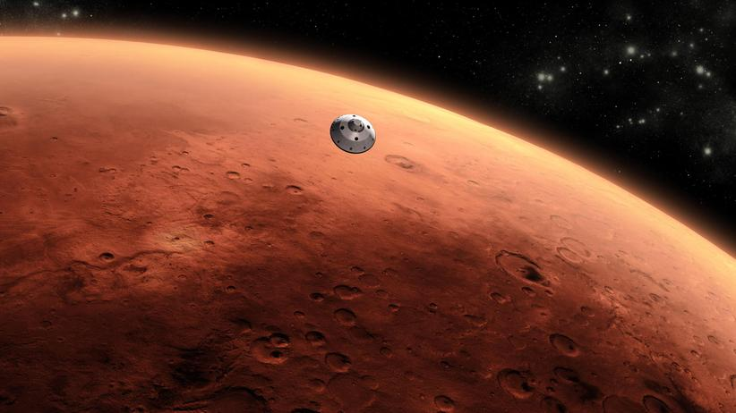 Raumfahrt: Lass uns auf den Mars ziehen!