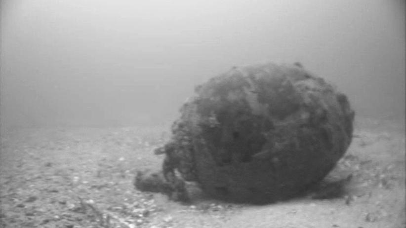 Munition im Meer: Vor Deutschlands Küsten ticken Zeitbomben