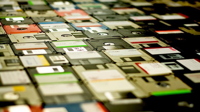 Wortschöpfung: Datenarchäologie, was auf alten Floppy-Disks schlummert