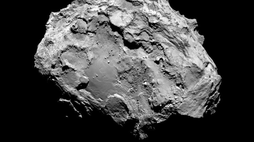 Rosetta-Mission: Der Brocken im All macht eher pluff als plonk