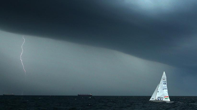 Segeln bei Gewitter: Stimmts?