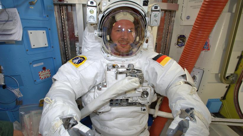 ISS: Alexander Gerst, das Mädchen für alles