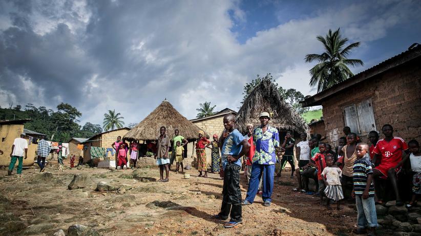 In Meliandou, Guinea, sprang die Seuche auf den Menschen über. Erst als Biologen und Forscher aus aller Welt das Dorf besuchten, erfuhren die Bewohner, was Ebola ist.