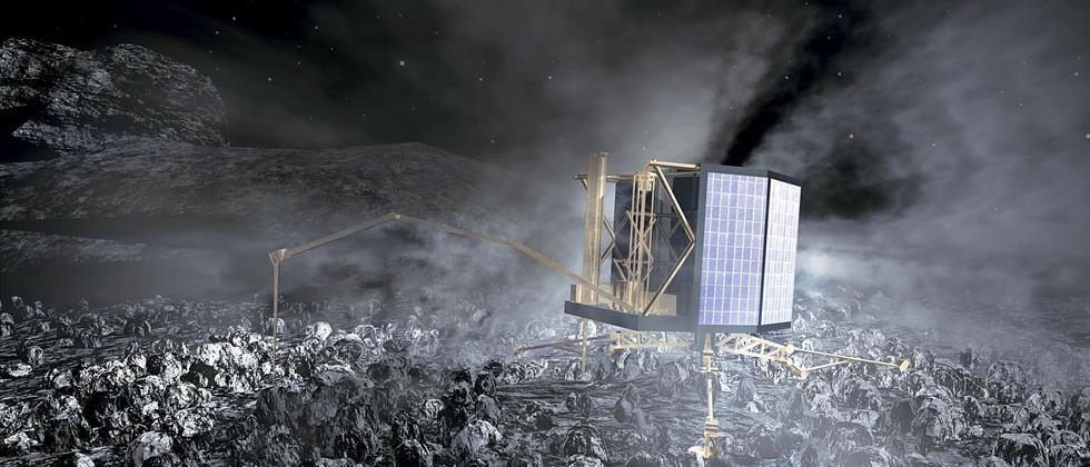 Rosetta: Landung des Minilabors Philae auf dem Kometen Tschuri