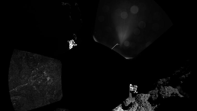 Rosetta-Mission: Tschuri hat eine harte Oberfläche