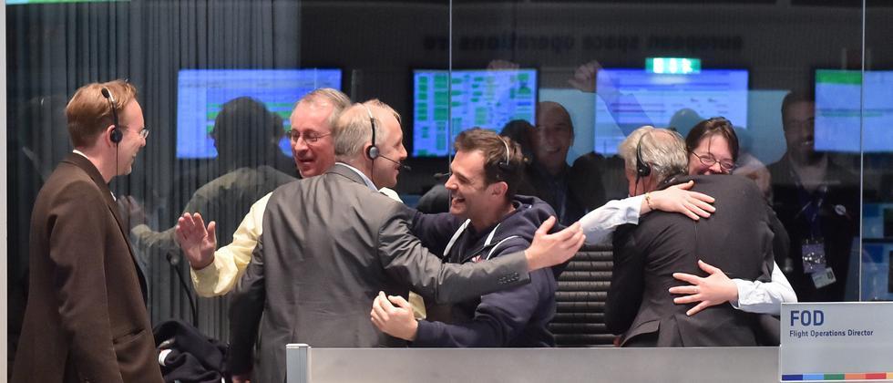 """Rosetta-Mission: """"Wir hatten abartiges Glück."""""""