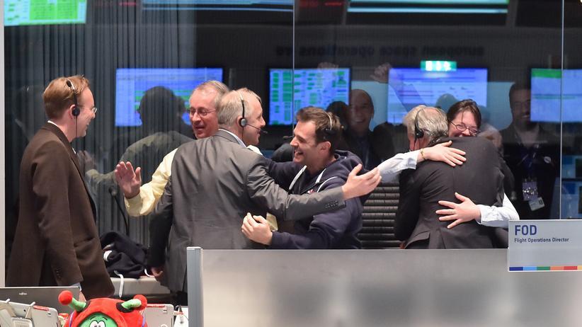 """Rosetta-Mission: """"Wir hatten abartiges Glück"""""""