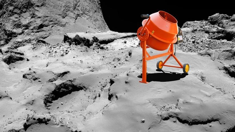 Kometen-Mission: Betonmischer auf dem Kometen Tschuri