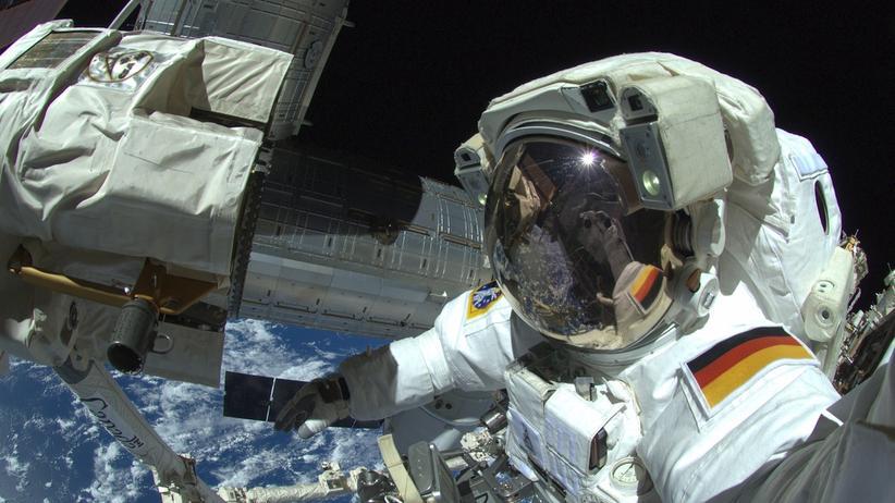 ESA Spacewalk Selfie Astronaut Alexander Gerst ISS