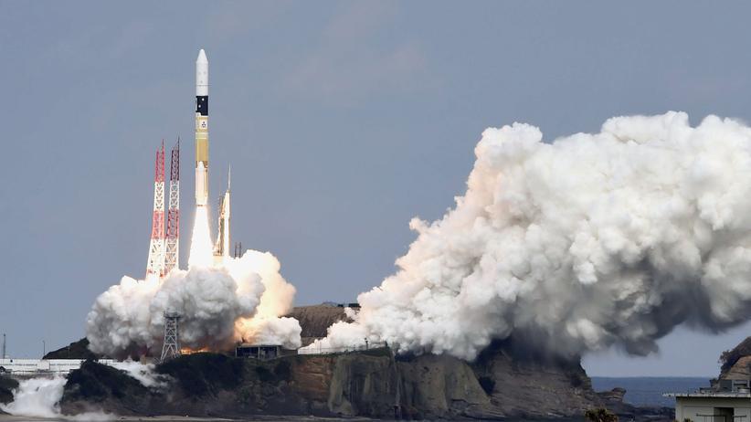 Japan: Sonde mit deutschem Asteroidenlander gestartet