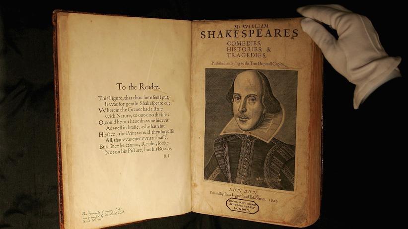 Shakespeare: 884.647 publizierte Wörter, 14.376 davon ein Mal genutzt