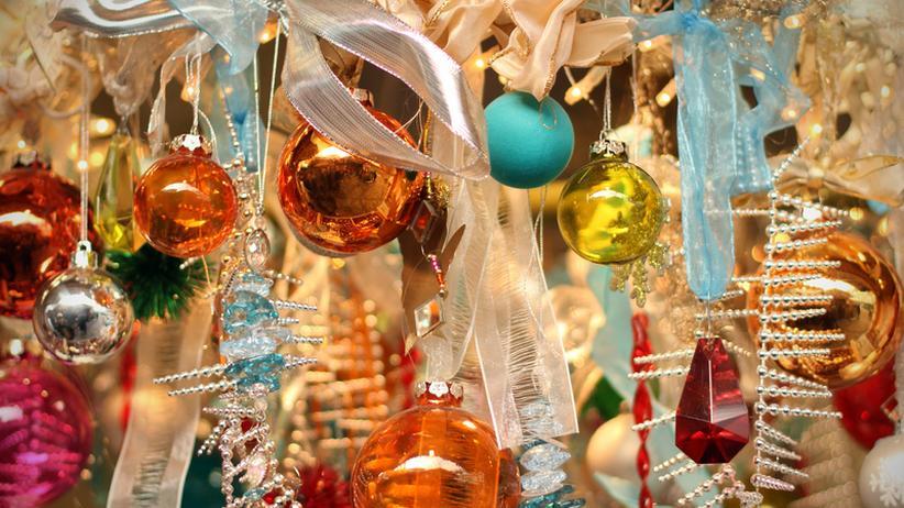 Weihnachten: Ordnung am Christbaum = n hoch 3 Kugeln
