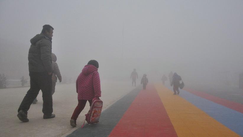 Feinstaub: Fast alle Städte Chinas überschreiten Smoggrenzen