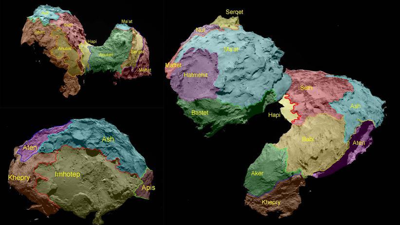 Rosetta: Komet Tschuri ist eine Wundertüte