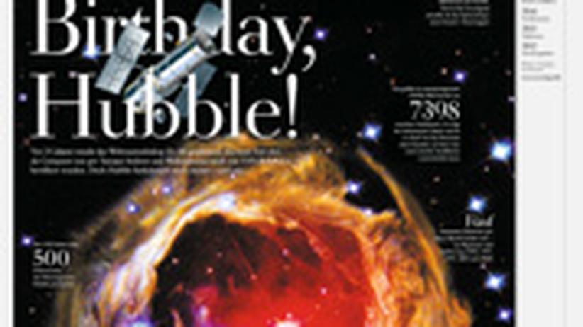 Astronomie: Happy Birthday Hubble
