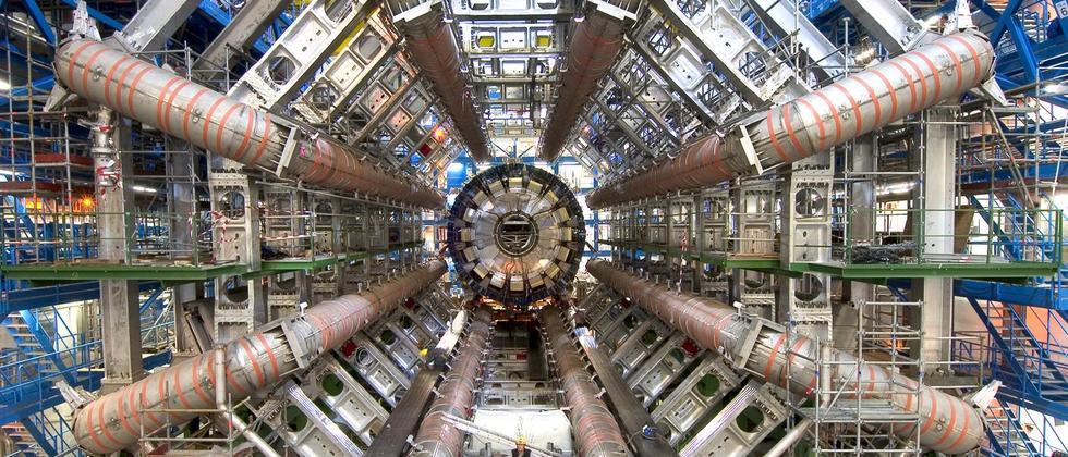 Der Atlas-Detektor am Cern