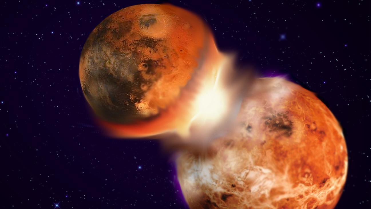 Entstehung Mond