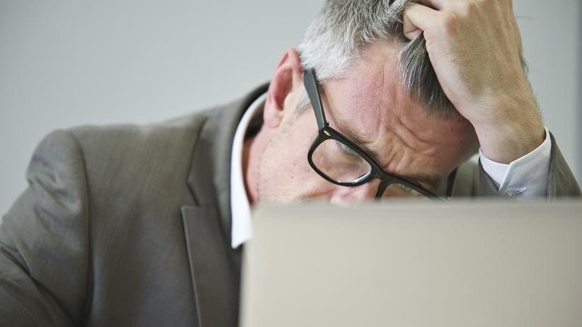 Stress Haare Grau Alter