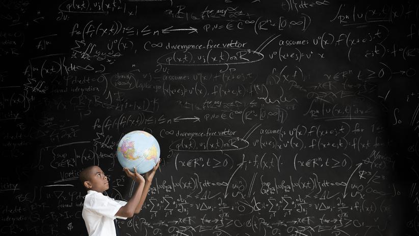Universum Erde Globus Mathematik Max Tegmark