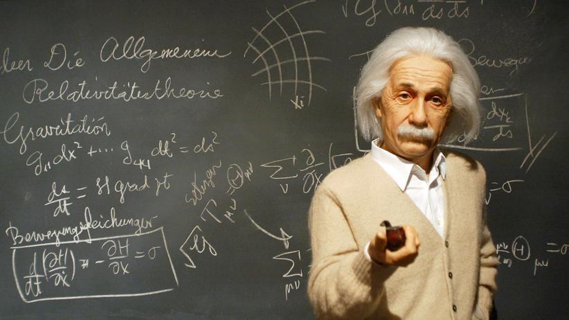 Einstein-Statue im Wissenschaftsmuseum in Seoul