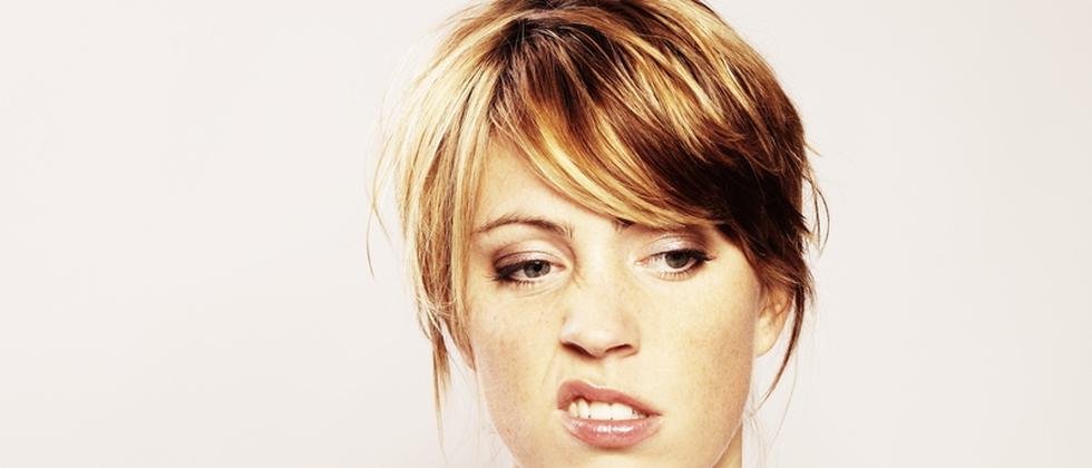 Emotion Nerven Mimik Anspannung Langeweile