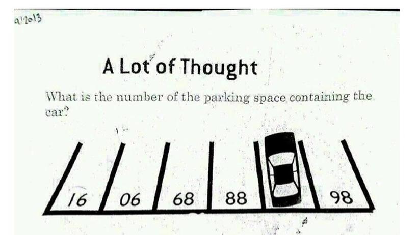 Logik-Rätsel: Auf welchem Parkplatz steht das Auto?