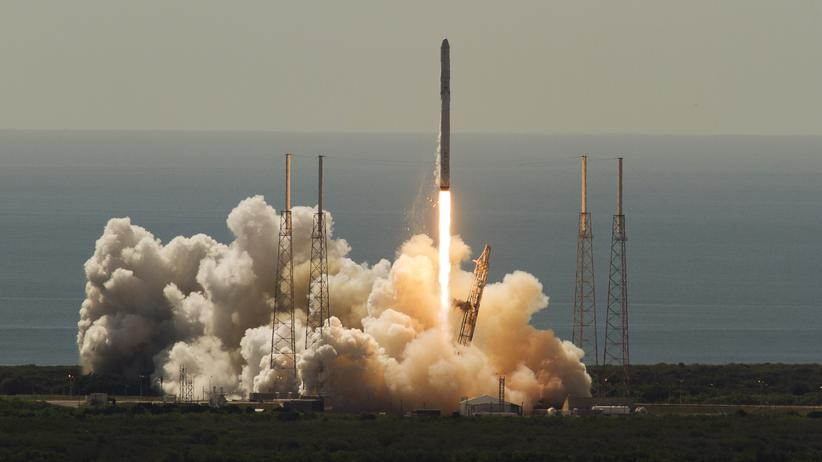 ISS: Recyclebare SpaceX-Rakete explodiert nach Start