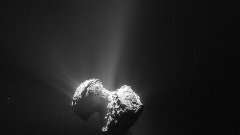 Tschurjumow-Gerassimenko: Philae hat ordentlich Staub aufgewirbelt