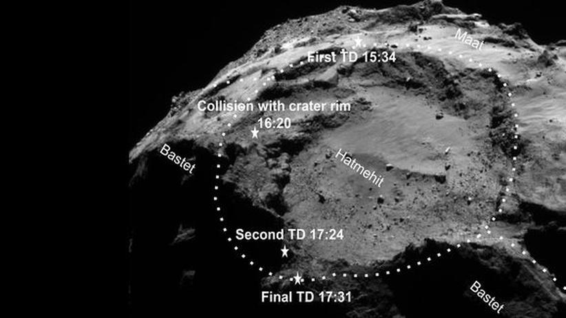 Philae Rosetta Tschuri Komet Weltraum Mission