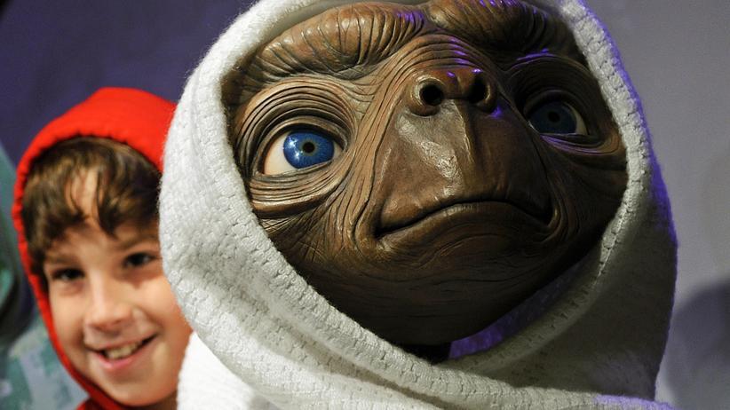 Außerirdisches Leben: E.T. hat sich laut den Wissenschaftlern des Bundestags noch nicht gemeldet. Eine unheimliche Begegnung der dritten Art wird es laut ihnen wohl auch nicht geben.