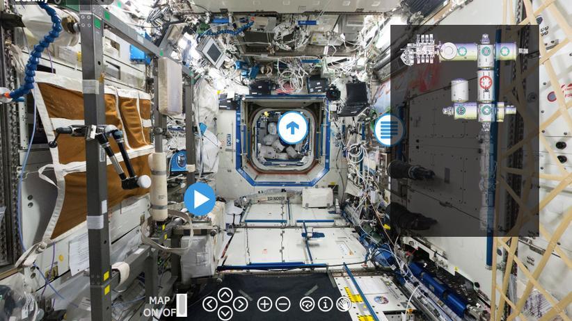 ISS: Schwebend durch die Blechbüchse