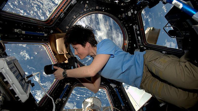 ISS: Hallo ISS, jemand im All?