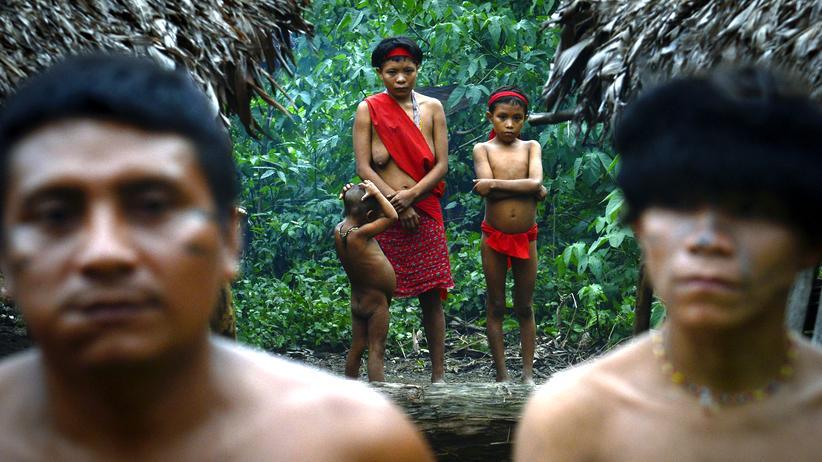 Amazonas Gesundheit YanomamiRegenwald Keime Antibiotika